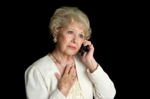 Senior Lady - Sad News